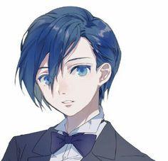 Genderless character in tuxedo