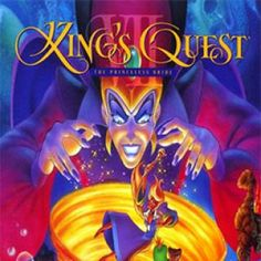 And when I got older, my mom bought me this one! king's quest 7 :-)