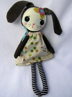 Bobbi the lost Bunny - nooshka