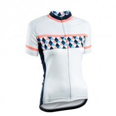The most stylish  ladies cycling jerseys we've seen in a long time! Loving the Geometric pattern