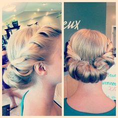Beautiful style created by our stylist Brittany