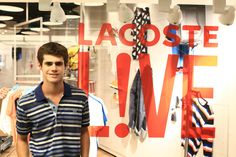Gaston Soffritti @ Lacoste L!VE Music & Art Session in Buenos Aires, Argentina.