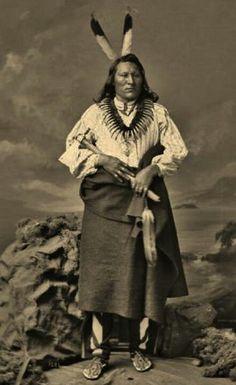 Big Elk, Ponca. 1877.