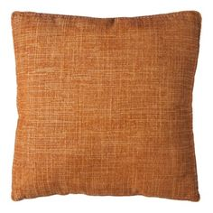 """Threshold™ Gusseted Toss Pillow (18x18"""") in Copper, $17.99"""