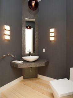 Furniture Appealing Small Corner Bathroom Sink Vanity With Kohler Waterfall  Tubu2026