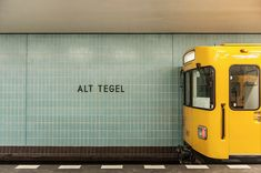 Photographer Kate Seabrook documents every station in Berlin's U-Bahn system… on Slow Travel Berlin Berlin Street, Berlin City, Berlin Berlin, Berlin Photography, Experimental Photography, U Bahn Station, Bahn Berlin, Underground Tube, Berlin Photos