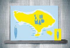 High Tide Kids Surf School School Map Poster