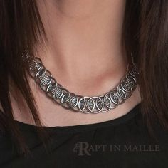 Cypress Woven Chainmail Necklace | Rapt In Maille