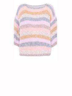 DAWNXDARE - Elvin Bold Stripe Bold Stripes, Vest, Pullover, Sweaters, Fashion, Tricot, Fashion Styles, Sweater, Sweater