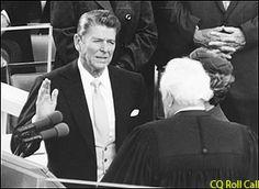Ronald Reagan Born Feb. 6,1911 - June 5, 2004 - Republican Party - Vice President: George H.W.Bush. Buried in Simi Valley, California.