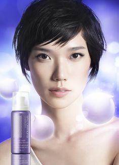 Japanese supermodel Tao Okamoto is shu uemura's beauty ambassador.