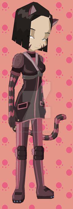 Yumi cat by codelyokofan92