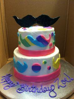 Moustache cake Cakes by Grandma Debbie Pinterest Moustache