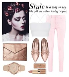 """""""Style💗"""" by faithkitty ❤ liked on Polyvore featuring Boohoo, Theory, Rebecca Minkoff, Burberry and tarte"""