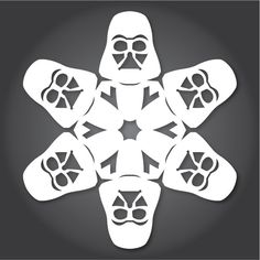 Star Wars Snowflakes. Yup, it's a thing!