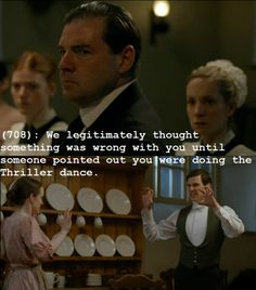 Downton Abbey meets Texts from Last Night