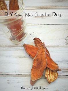 DIY Sweet Potato Chews for Dogs