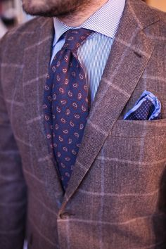 The Paisley Tie by GANT.