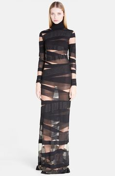 Emilio+Pucci+Turtleneck+Body-Con+Gown+available+at+#Nordstrom