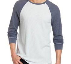 Calvin Klein Jeans Blue and Grey long Sleeve Men's Raglan Baseball Knit Top Calvin Klein http://www.amazon.ca/dp/B00GYY5MKO/ref=cm_sw_r_pi_dp_Z4D-tb19WKVCB