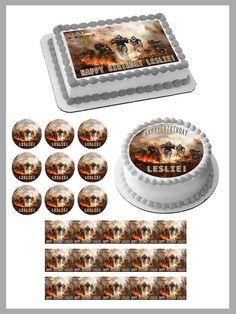 HALO REACH 2 Edible Birthday Cake Topper OR Cupcake Topper, Decor #BirthdayChild