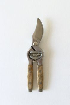 TIMBER-HANDLED SECATEURS – Imprint House Drop Forged, Cool Tools, Take That, Handle, Photoshoot, Kitchen Elevation, Interior, Harvest
