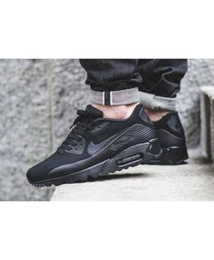 best sneakers b545a b4649 Air Max 90 Ultra Moire All Black Trainer Black cool, very welcoming. Nike  Free