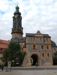 Op 19 oktober 1806 trouwde Goethe met Christiane Vulpius in de Schlosskirche in Weimar