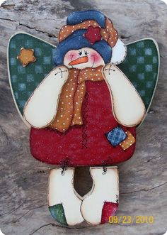 Frosty The Snowman Angel Wall Hanging