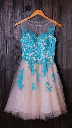 Cute and Lovely Short Tulle Prom Dress