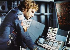 "Movie still Bruce Dern as Freeman Lowell in ""Silent Running"" 1972 70s Films, Sci Fi Films, Best Sci Fi Movie, Movie Tv, Silent Running, Larry Niven, French Classic, To Infinity And Beyond, Film Stills"