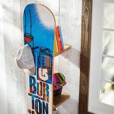 Burton Snowboard Shelf for ski room