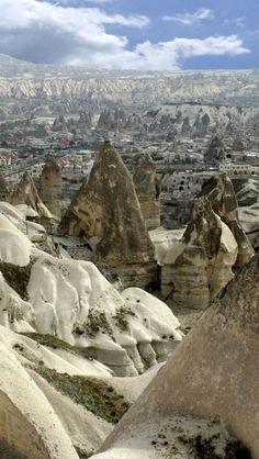 Goreme, travel, Cappadocia, Turkey= A fascinating, unique part of the world. Places To Travel, Places To See, Places Around The World, Around The Worlds, Wonderful Places, Beautiful Places, Bósnia E Herzegovina, Cappadocia Turkey, Strand