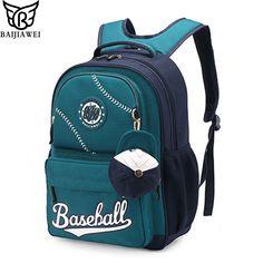 dce625bbd55f BAIJIAWEI Children Waterproof Backpack In Primary School Backpacks Children  School Bags For Boys Girls Mochila Infantil