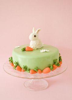 Bunny birthday cake 2 by cakejournal, via Flickr