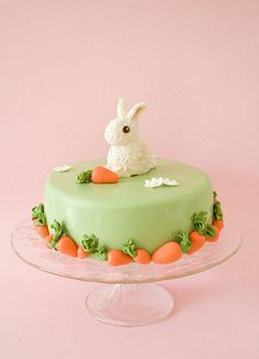 Bunny birthday cake 2 by cakejournal, via Flickr