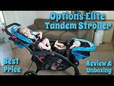 |Unboxing & Review| Contours Elite Tandem Stroller 2016 - YouTube