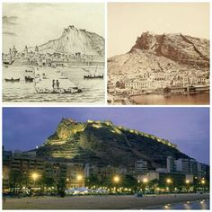 Evolución del castillo de Santa Bárbara, desde el siglo XVIII hasta el siglo XX.