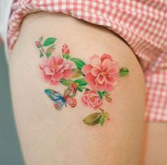 189 Most Attractive Thigh Tattoos For Women awesome