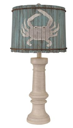 Add this tall beach cottage ready Chunky Causal Crab Table Lamp to any room that needs extra lighting with a fun and pretty coastal style! Beach Cottage Style, Beach Cottage Decor, Coastal Cottage, Coastal Style, Coastal Decor, Coastal Entryway, Coastal Interior, Modern Coastal, Scandinavian Interior