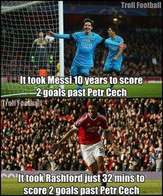 Marcus Rashford > Leo Messi :P Credits: Christian A. Jørgensen