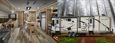 """Rockwood Windjammer Travel Trailers  Thanks to it's """"V"""" nose design, every possible space is used for interior room and storage. The aerodynamic, six-sided vacuum-bonded exteriors can be towed by a wide variety of vehicles on the market. A variety of standards and options gives..."""