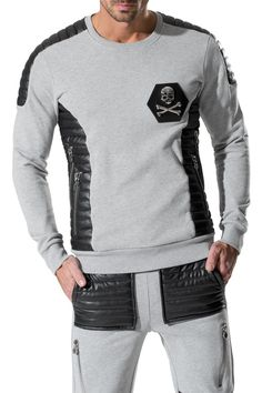 "PHILIPP PLEIN - Official Website | SWEATER ""STONG"" 
