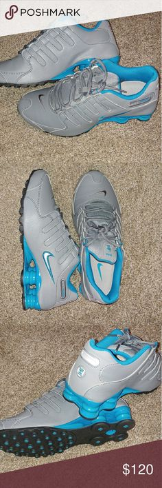 MENS NIKE SHOX NZ RUNNING SHOES SIZE 7 BRAND NEW WITH BOX  FAST SHIPPING! Nike Shoes Athletic Shoes
