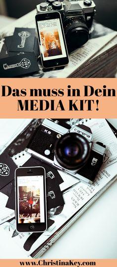 Blogger Tipps: Was alles in Dein Media Kit muss! / In diesem Beitrag zeige ich Dir wie Du Dir ganz einfach Dein Media Kit erstellst und erkläre Dir was alles in Dein eigenes Media Kit rein. muss. Außerdem schenke ich Dir noch eine Gratis Media Kit Vorlage als Download! // Blog Post von CHRISTINA KEY - dem Blogger- und Fotografie Tipps Blog aus Berlin