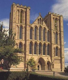 Ripon Cathedral is a seat of the Bishop of Leeds and one of three co-equal mother churches of the Diocese of Leeds, situated in the small North Yorkshire city of Ripon, England. The cathedral has Grade l listed building status.