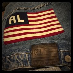 RL vintage jean jacket 1990 jean jacket. Wonderful condition. Any flaws on denim was purchased like that and are part of wash Jackets & Coats Jean Jackets