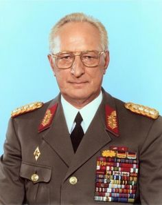 Heinz Kessler was a general in the National People's Army of the German Democratic Republic.