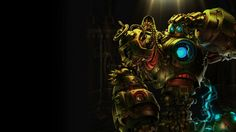 Blitzcrank Art League of Legends Robot Mecha