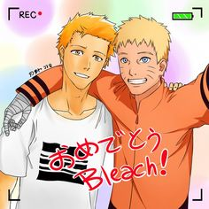 Dos grandes animes adaptados de dos grandes mangas que terminan (Bleach y Naruto)
